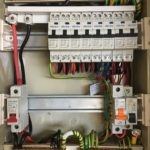 Newley upgraded switch board