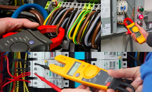 Various acts of electrical testing been undertaken