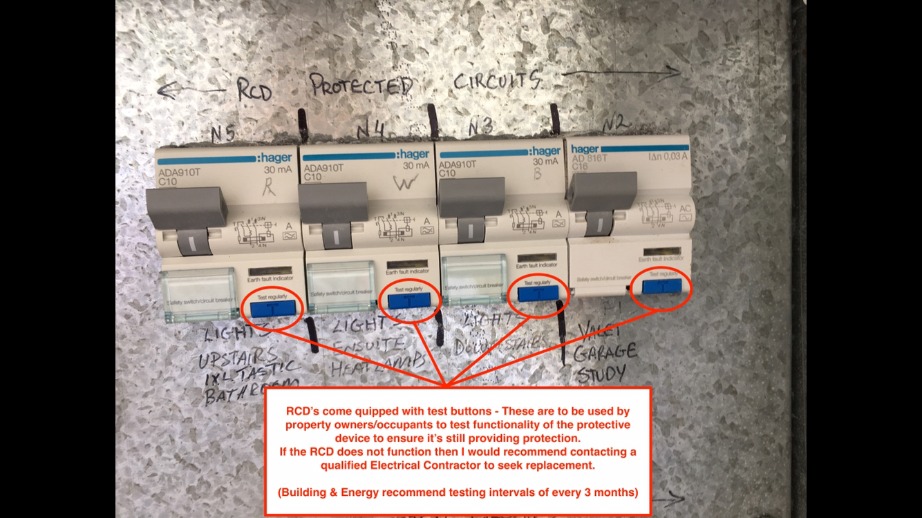 Safety switches - RCD's